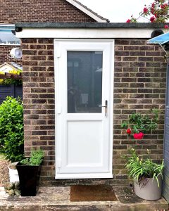uPVC Garage Door