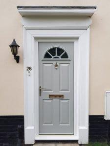 "Pearl Grey ""Eiger Georgian"" Endurance Door"