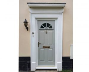 Pearl grey Eiger Georgian Endurance Door